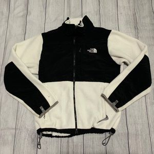 North Face Polartec Fleece Black White Jacket